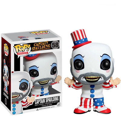 Funko pop Movies: Captain Spaulding 58 Action Vinyl Figure Anime Model Pvc Toy