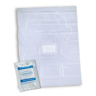 Click Medical Face Shield with Hydrophobic Filter Compact Size White Ref CM0472