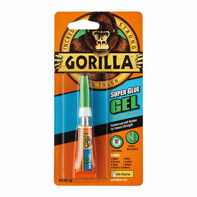 Gorilla Super Glue Gel 3g 100745