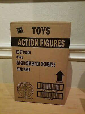 SDCC 2019 Exclusive Star Wars Darth Vader Prototype Factory Sealed Case of 8