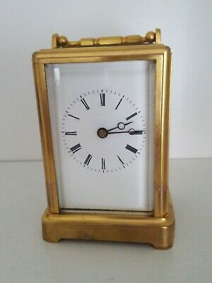 Corniche French One-Piece Carriage Clock