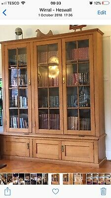 Beautiful Victorian Oak Bookcase