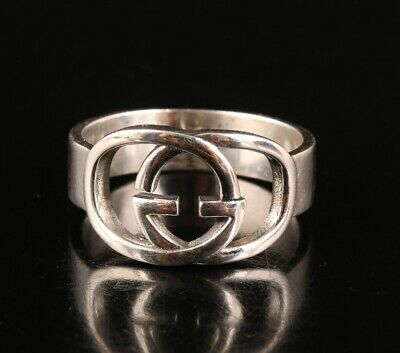 Rare Chinese 925 Silver Ring Statue Hand-Carved Lady Old Decorative Craft Collec