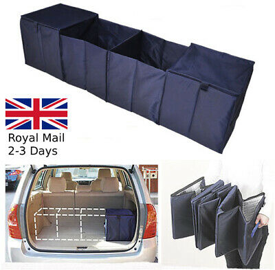Large Car Boot Foldable Storage Bag Organiser Travel Tidy Box Camping Shopping