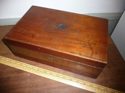 Antique Writing Slope . Sold For restoration .Suit Night school Project .(1)
