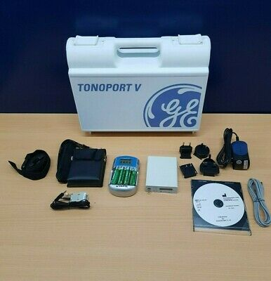 GE Tonoport V ABPM with Cardiosoft Analysis Software for ABPM