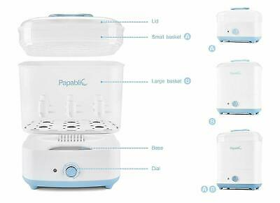 Papablic Baby Bottle Electric Steam Sterilizer and Dryer