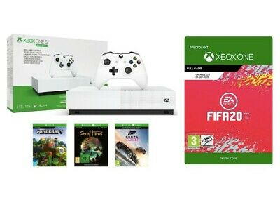 Deal | Xbox One S All-Digital Edition with FIFA 20, Minecraft, Forza, And more !