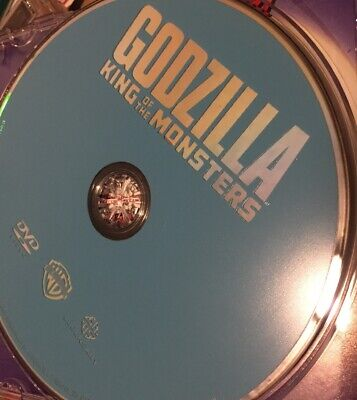 Godzilla: King of The Monsters (DVD, 2019) *Authentic Disc Only