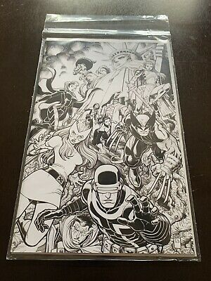 NYCC 2019 Marvel Exclusive Powers of X #5 Virgin Variant Cover Rare House X-Men