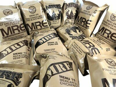 US MILITARY MRE MEALS (YOU PICK THE MEAL) Survival Meals