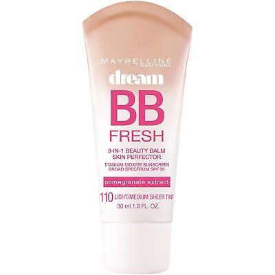 New Maybelline Dream Fresh BB Cream 8-in-1 Beauty Balm Skin Perfector You Choose