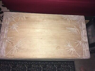 Chinese Hand Carved Teak And Cedar Chest Partially Restored .... Beautiful Piece