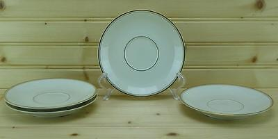 Mikasa TROUSDALE (4) Saucers L2801 |Ivory China - Japan (Discontinued)