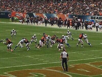 Two Chicago Bears vs New York Giants Tickets - 15th Row!!!