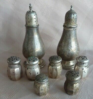 Sterling Silver Scrap - Damaged Shakers International Prelude - Reed & Barton