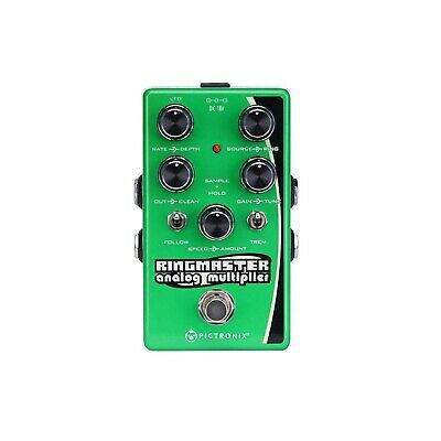Pigtronix Ringmaster Analog Multiplier Pedal with FREE Octava Micro