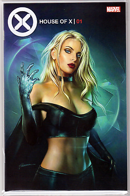 HOUSE OF X #1 Shannon Maer Minimal Exclusive Emma Frost VARIANT 1st Print NM 🔥