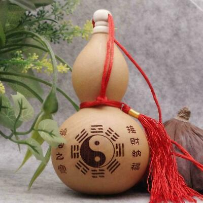 1x Home Crafts Potable Natural Real Dried Bottles Gourd Decoration Hot Orna W6A4