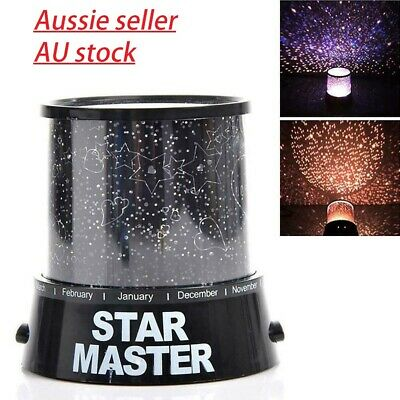 Romantic LED Starry Night Sky Projector Lamp Kids Gift Star light Cosmos Mast wY