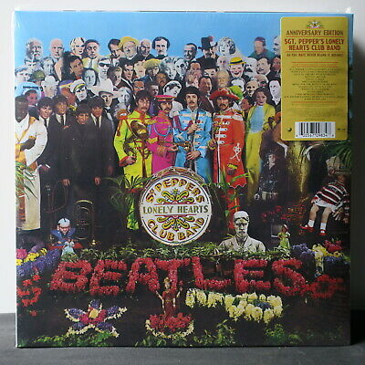 BEATLES 'Sgt. Pepper's Lonely Hearts Club Band' Anniversary Vinyl LP NEW/SEALED