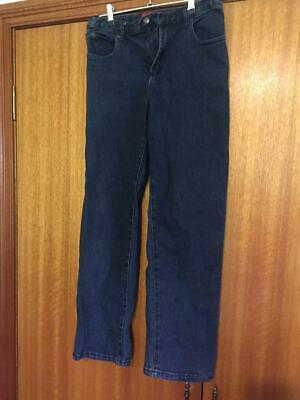 Thomas Cook size 12 adjustable waist Navy jeans