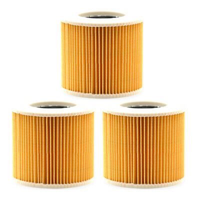 Filter 3pcs Vacuum Cleaner Household Cleaning Dusts For Karcher A 2054 Me A 2101