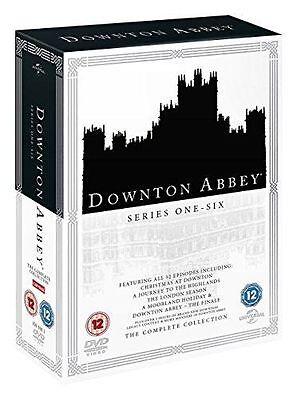 BRAND NEWS - Downton Abbey Series 1 to 6 Complete Collection Region 2 DVD
