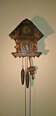 Vintage Cuckoo Clock  Spares Or Repairs
