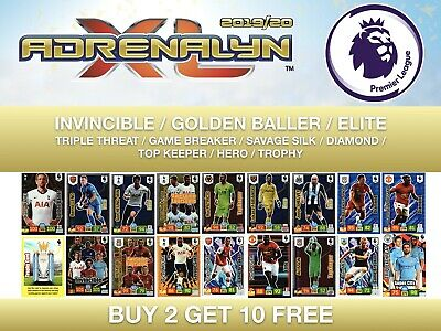 Panini Premier League Adrenalyn 2019/20 Diamond Hero Elite Buy 2 Get 10 Free