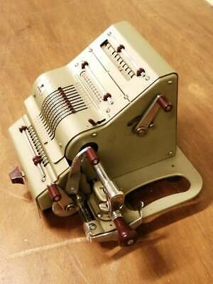 Antique Original Brunsviga Mechanical Calculator rare item