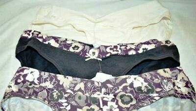 NEW Target 3 Pack Under The Belly Maternity Briefs Size 10  - Free Postage