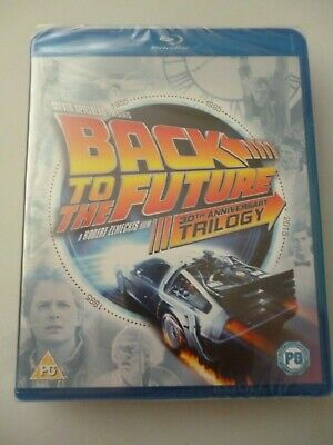 Back To The Future Trilogy - Blu Ray  30th Anniversary Trilogy  ( New/Sealed )