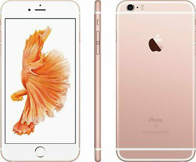 Apple iPhone 6s Plus - 64GB - Rose Gold (AT&T) A1634 (CDMA + GSM) Works Great