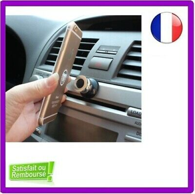SUPPORT MAGNETIQUE VOITURE SMARTPHONE IPhone Samsung MOBILE 360°UNIVERSEL ROTATI