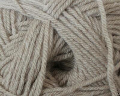 DY CHOICE Aran Knitting Yarn 400g With Wool 525 Caramel