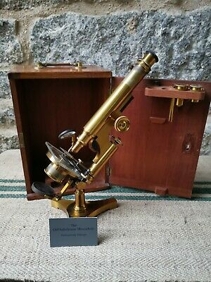 An Antique Microscope by Beck London 12192