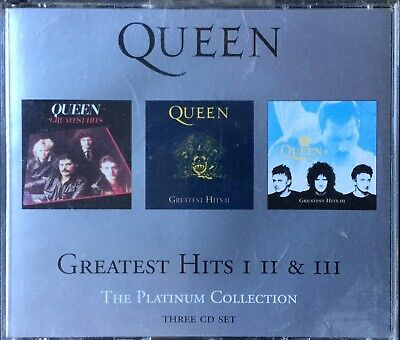 Queen~The Platinum Collection: Greatest Hits I, II & III (3xCD Fatbox )