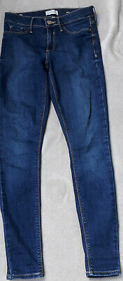 River Island Molly, Blue, Skinny Fit, Jeans Size 8 S