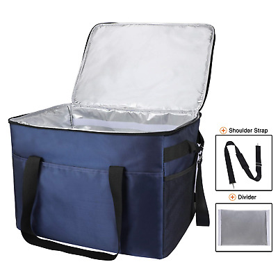XXL Family Sized Cool Bag Extra Large Insulated Thermal Take Away Food Delivery