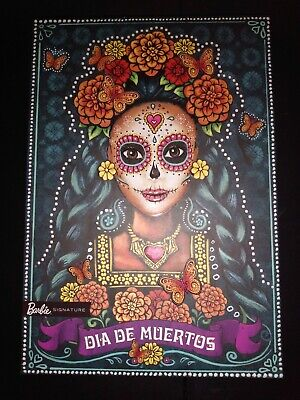 Barbie Day of The Dead - Dia De Los Muertos Barbie. **ON-HAND, READY TO SHIP.**