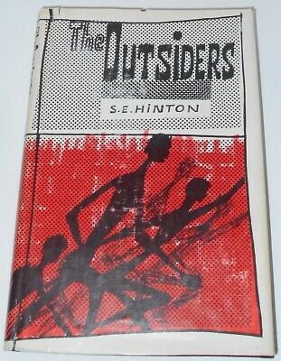 THE OUTSIDERS by S.E. HINTON - First Edition 1967 - 1st Printing Hardcover, DJ