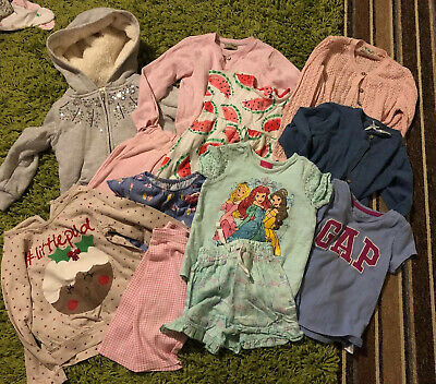 Baby Girls Clothes Bundle Age 18-24 Months & 2-3 Years. Mixed Items. 12 Items