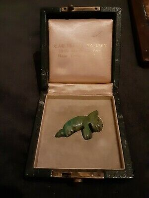 Pre-Columbian, Jade Amulet from Mexico
