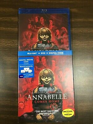 Annabelle Comes Home (Blu-Ray+DVD+Digital) NEW