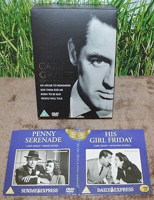 Cary Grant Collection 4 dvd set + 2 x promo dvds  6 dvds in total