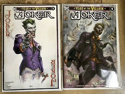 JOKER YEAR OF THE VILLAIN #1 Clayton Crain & Lucio Parillo TD VARIANTS Scorpion