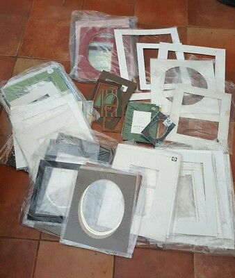 Over 50 Card Picture Frame Inserts Various Sizes