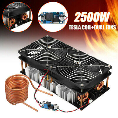 Components Heating Board For Tesla Coil 2500W ZVS Induction Flyback Heater