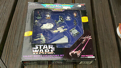 STAR WARS MICRO MACHINES GALAXY BATTLE SHIPS COLLECTOR'S SET 1994 Limited Ed.